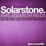 SOLARSTONE feat ELIZABETH FIELDS - Speak In Sympathy (Front Cover)