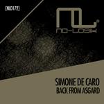 SIMONE DE CARO - Back From Asgard (Front Cover)
