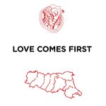 VARIOUS - Love Comes First (Front Cover)