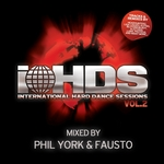 YORK, Phil/FAUSTO/VARIOUS - International Hard Dance Sessions Volume 2 (unmixed tracks) (Front Cover)