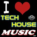 DIOVANNI/MAXINOISE/DJANE MISTINA/DONETSKY/GEORGE MORALES/TRACKS UP THE SLEEVE - I Love Tech House Music (Front Cover)