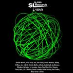 VARIOUS - SL Records 1 Year (Front Cover)