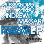 ARBOLA, Alessandro/ANDREW MACARI - Boomdock Hoedown EP (Front Cover)