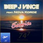 DEEP J VINCE feat NOVA KORDZ - Sunrise (Front Cover)