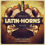 LOOPMASTERS - Latin Horns (Sample Pack WAV/APPLE) (Front Cover)
