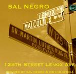 SAL NEGRO - 125th Street Lenox Ave (Front Cover)