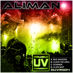 ALIMAN - Bug Invasion (Front Cover)