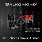 BALKONKIND - You Never Walk Alone (Front Cover)