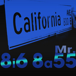CALIFORNIA AVE - Mr 8i6 8a55 (Front Cover)