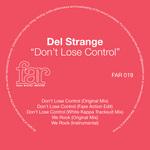 DEL STRANGE - Don't Lose Control (Front Cover)
