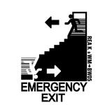 REA K & WM - Emergency Exit (Front Cover)