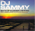 DJ SAMMY - Boys Of Summer (Front Cover)
