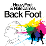 HEAVYFEET/NATE JAMES - Back Foot (remixes) (Front Cover)