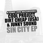 COOL PROJECT/DIRT CHEAP USA/JUNKY SOUND - Sin City EP (Front Cover)
