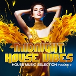 VARIOUS - Midnight House Vibes Vol 9 (House Music Selection) (Front Cover)
