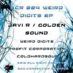 JAVI R/GOLDEN SOUND - Weird Digits EP (Front Cover)