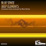 BLUE SENSE - Deep Elements (Front Cover)