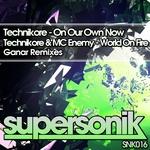 TECHNIKORE/MC ENEMY - Ganar Remix EP (Front Cover)