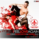 AGU LUKKE/BOBKOMYNS feat ANDREA RMS - I Feel Love Again (Front Cover)