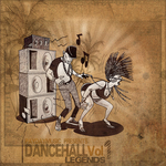 VARIOUS - Dancehall Legends Vol 1 (Front Cover)