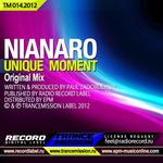 NIANARO - Unique Moments (Front Cover)