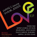 WAYNE G feat SHAUNA JENSEN - Love (Front Cover)