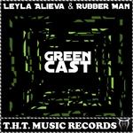 ALIEVA, Leyla/RUBBER MAN - Green Cast (Front Cover)