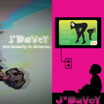 J*DAVEY - The Beauty In Distortion / The Land Of The Lost (Front Cover)