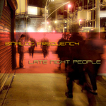 BINALOG FREQUENCY - Late Night People (Front Cover)