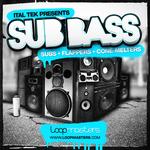 ITAL TEK - Sub Bass (Sample Pack WAV) (Front Cover)