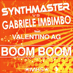SYNTHMASTER vs GABRIELE IMBIMBO feat VALENTINO AG - Boom Boom (Front Cover)