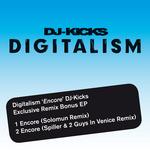 DIGITALISM - Encore (DJ Kicks Exclusive Remix Bonus EP) (Front Cover)