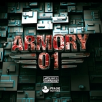 HUNGRY BEATS - Armory 01 (Front Cover)