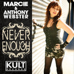 MARCIE/ANTHONY WEBSTER - KULT Records Presents Never Enough (Front Cover)