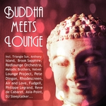 DJ SLEEPTALKER/VARIOUS - Buddha Meets Lounge (Best Chillout & Lounge Moods) (unmixed tracks) (Front Cover)