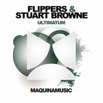 FLIPPERS/STUART BROWNE - Ultimatum (Front Cover)