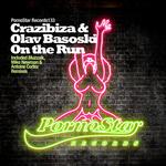 CRAZIBIZA/OLAV BASOSKI - On The Run (Front Cover)