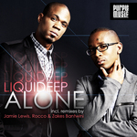 LIQUIDEEP - Alone (Front Cover)