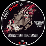 TRUST THE MACHINE - Tiger Blood EP (Front Cover)