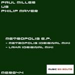 MILLER, Paul vs PHILIP MAYER - Metropolis EP (Front Cover)