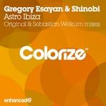 ESAYAN, Gregory/SHINOBI - Astro Ibiza (Front Cover)