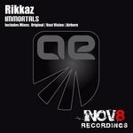 RIKKAZ - Immortals (Front Cover)