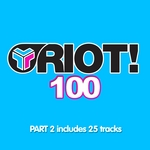 VARIOUS - Riot 100 Part 2 (Front Cover)