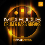 MIDI Focus: Drum & Bass Breaks  (Sample Pack WAV/MIDI)