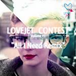 LOVEJET - Lovejet Contest Volume 1 (Front Cover)