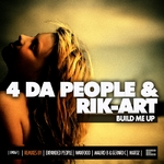 4 DA PEOPLE/RIK ART - Build Me Up EP (Front Cover)