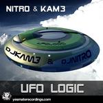 DJ NITRO/KAM3 - UFO Logic (Front Cover)