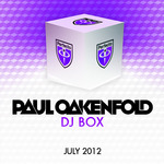 OAKENFOLD, Paul/VARIOUS - DJ Box July 2012 (Front Cover)