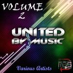 VARIOUS - United By Music Vol 2 (Front Cover)