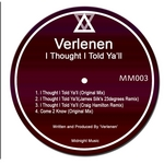 VERLENEN - I Thought I Told Ya'll EP (Front Cover)